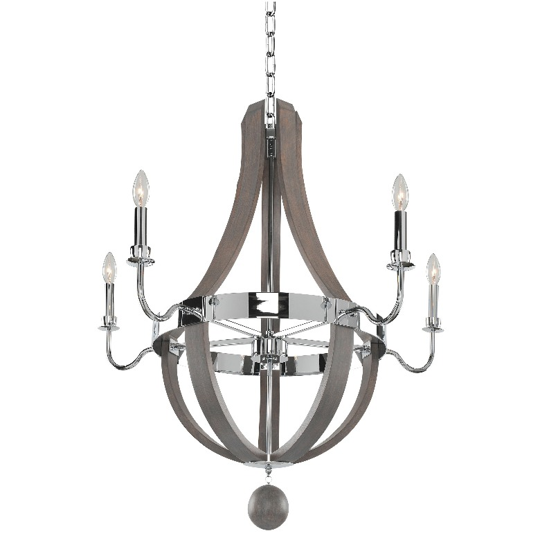 Sharlow 5 Light Chandelier