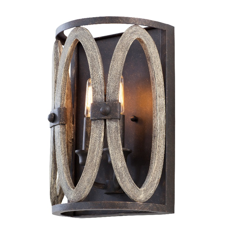 Belmont 2 Light Wall Sconce